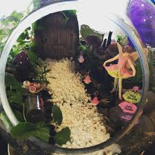 fairy garden terrarium.  Garden Terrarium Fairy Garden With Door  Image Shared Permission By  Belinda Doyle Intended U