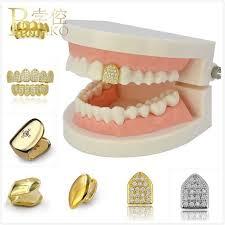 BOAKO <b>Rose Gold</b> Teeth grillz <b>Hip Hop</b> Rapper Gold Teeth Grills ...