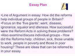labour welfare reforms essay tips ppt video online 5 essay plan line of argument