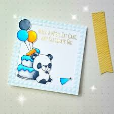Card Critters Bear Cake Gifts Mft Beary Special Birthday Die