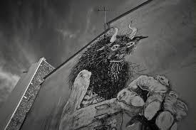la sorbonne faaade catac nord de la. Graffiti Representant La Bete Sur Facade Du0027un Immeuble Parisien Sorbonne Faaade Catac Nord De F