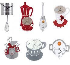 Relojes Reloj Cocina Original Cupon Descuentos Mil Ideas Reloj De Cocina  Original