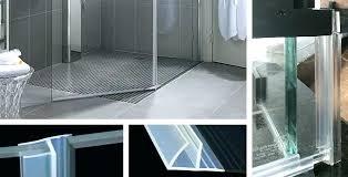 shower door sweeps and seals shower door sweep seal when to replace glass shower door sweeps
