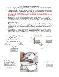 Check For Proper Ring End Gap Wiseco Inc Pages 1 3