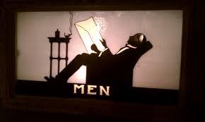 1930s Bathroom 1930s Vintage Mens Bathroom Sign Bathroompress