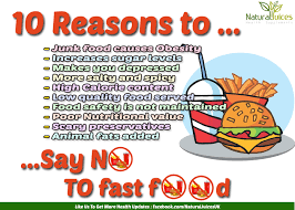 fast food bad for health. Brilliant Fast Why Eating Fast Food Is Bad For Your Health  10 Reasons SayNoToFastFood Inside For S