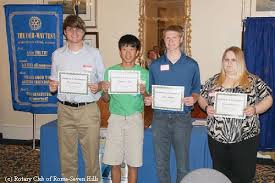 statewide laws of life essay contest winners honored at  statewide laws of life essay contest winners honored at 12 meeting rotary club of rome seven hills