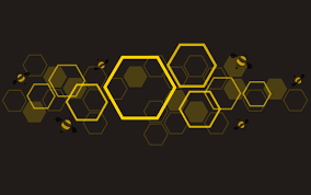 The Hive Design The Shape Of Hexagon Concept Design Abstract Technology