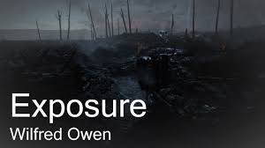 poetry reading wilfred owen s exposure battlefield footage poetry reading wilfred owen s exposure battlefield 1 footage poetry essay