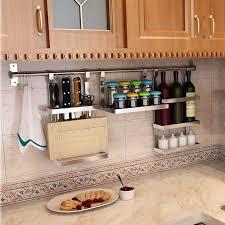 stainless steel wall shelves for kitchen stainless steel kitchen shelving storage wall shelf tool holder stainless