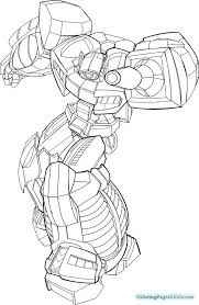 rescue bots blebee coloring pages chase