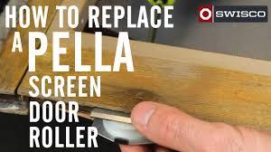 Decorating pella door repair pictures : How to replace a Pella screen door roller - YouTube