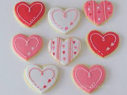San Valentin Decoration Cancuncookies Valentines Cookies Baking Biscuits Hearts