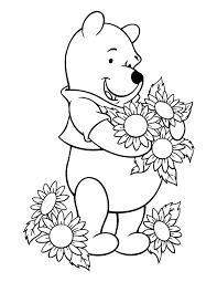 Winnie The Pooh Coloring Pages 11 With Winnie The Pooh Coloring