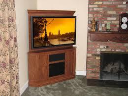 custom made custom corner oak tv stand entertainment center