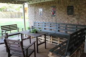 pallets outdoor furniture. Elegant Pallet Patio Furniture Plans Decorative Outdoor Made From Pallets Design Home Decorating Photos