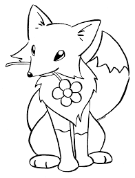 Small Picture Cute Baby Fox Coloring Page Pages Best Of Baby Fox Coloring Pages