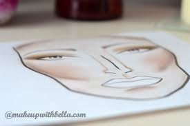 Face Charts To Print Makeup With Bella Face Charts What Is It About