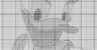 Embroidery Chart Daisy Duck Embroidery Pdf Daisy Daisy Cross Stitch Disney Chart For Cross Stitching Duck Disney Download Scheme In Pdf Format Aida 28