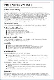 Optician Cover Letter How To Write A Resume For A Doctor Job Job
