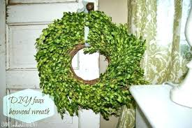 outdoor faux boxwood garland wreath fake whole nice and wreaths