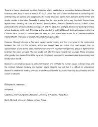 beowulf essay 3