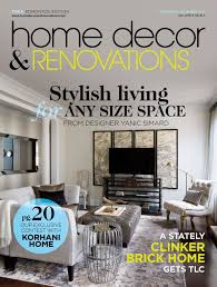 home decor and renovations magazine