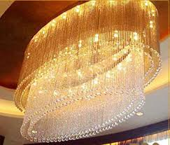 new oval design modern large chandeliers crystal light fixtures for hotel lobby re chandelier with remote control large chandeliers with