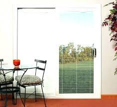 sliding door blinds ideas patio sliding door with blinds between glass
