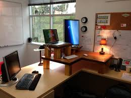 large size of desk awesome white oak wood corner standing desk equipped with wooden laptop awesome corner office desk remarkable brown wooden