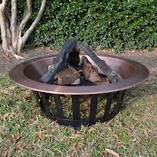 Titan 40 Copper Outdoor Fire Pit For Sale Online