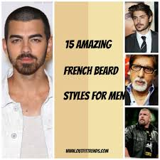 Facial beard designs classis french