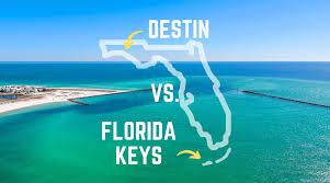 destin vs florida keys destin