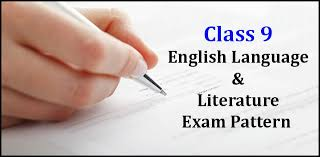 exam pattern for cbse cl 9 english