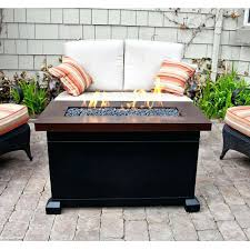 gas patio table. fire pit patio furniture camp chef propane table gas outdoor by blue rhino: full size r