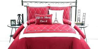 red and white duvet cover black white and red comforter red comforter sets queen red and red and white duvet cover
