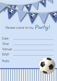 Football Invitation Template Free Printable Football Invitations Chezvictor