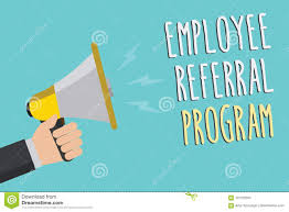Employee Referal Text Sign Showing Employee Referral Program Conceptual Photo