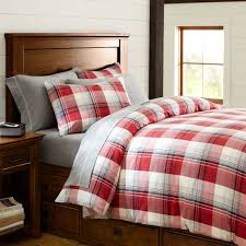 Red And Grey Duvet Cover - Sweetgalas & Field House Plaid Duvet Cover Sham Red Gray Pbteen Adamdwight.com