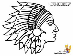 Indian Coloring Pages Free Native American To Print Pdf For