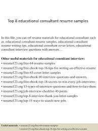 Educational Consultant Cover Letter Records Specialist Cover Letter