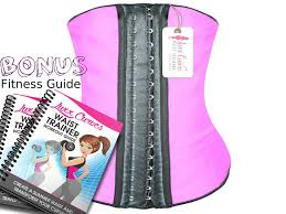 Luxx Curves Waist Trainer Corset For Weight Loss Latex