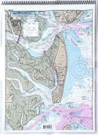 Icw Navigation Charts Amazon Com Icw St Simons Sound To Tolomato River Fl