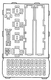 ford fuse diagram fuse panel layout for a ford club wagon ford contour fuse box diagram auto genius ford contour fuse box instrument panel fuses