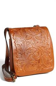 embossed leather bag patricia nash