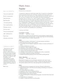 Teacher Resume Template Word Elegant Math Teacher Resume Sample ...