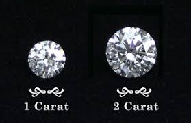 1 carat diamond size 2 carat diamond price rings diamondregistry com
