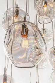 pendant lights john pomp hand blown glass infinity pendant 11w x in blown glass pendant light