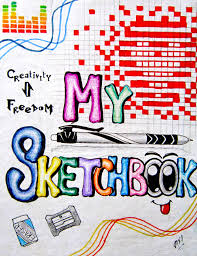 the cover of my sketchbook by s a k i on deviantart