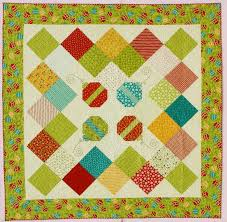 46 best Moda Fabric Lines and Designers images on Pinterest | Book ... & A very quick quilt using a Layer Cake™ from the